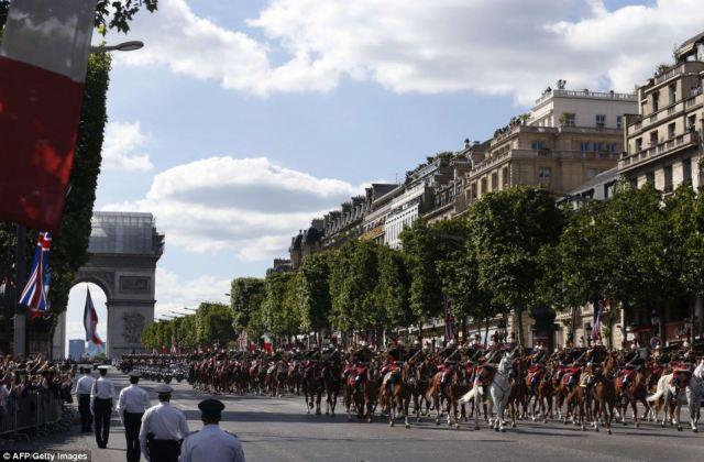 Paris Guard of Honour
