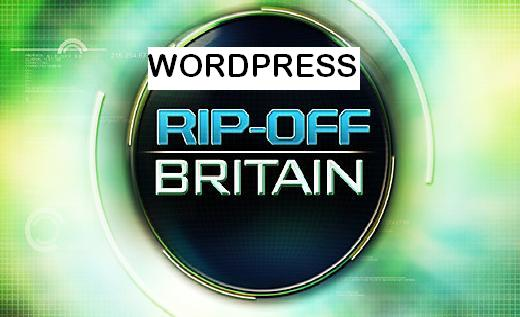 WORDPRESS RIP-OFF