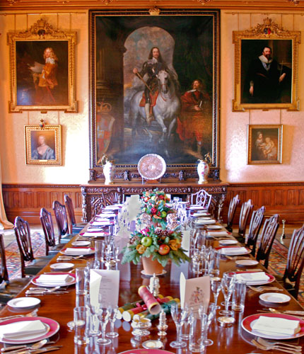 Castle Dining Room: A Day Out To Highclere Castle Aka Downton Abbey