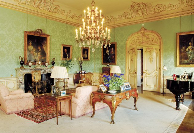 Downton Drawing Room