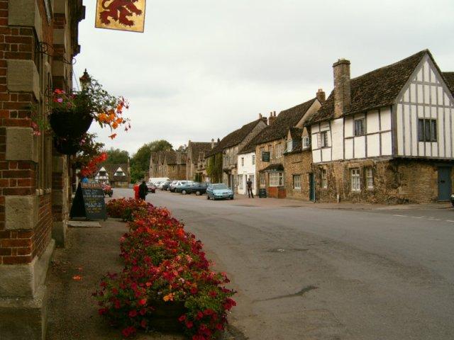 Lacock High Street