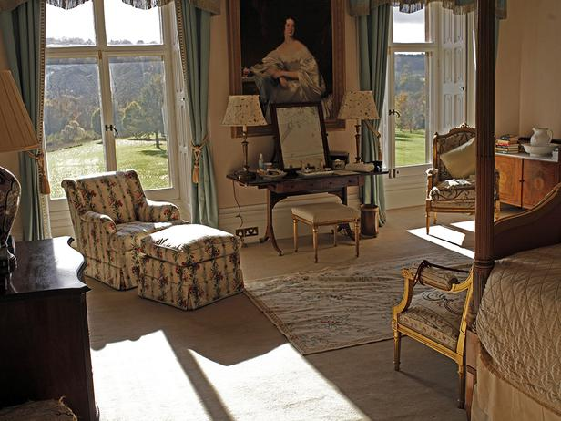 In Downton Abbey this is the bedroom of Lady Cora
