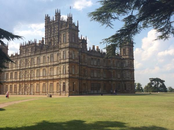 A room with a view - Downton Abbey