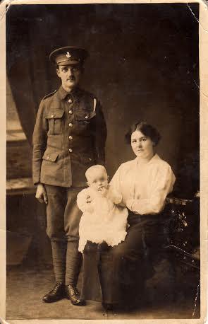 Ernest Heard with Annie Heard and Granddad