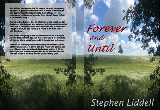 The cover of Forever and Until, the final book of the Timeless Trilogy