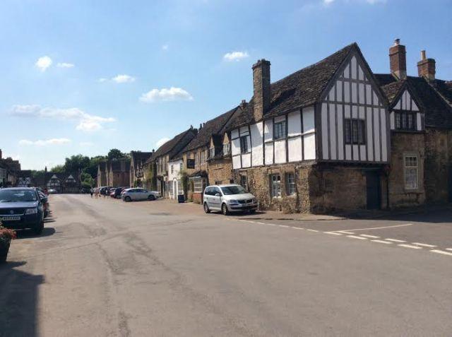 Lacock village main street
