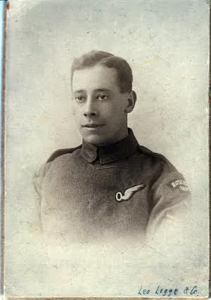 Sgt Ruel Dun of the Royal Flying Corps