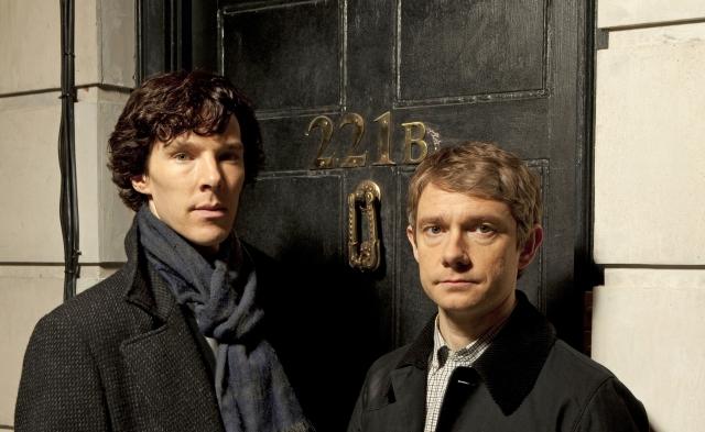 Sherlock Holmes and Dr John Watson