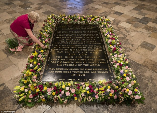 The Tomb of the Unknown Warrior is for all those who have no graves to grieve.