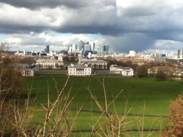 View from Shooters Hill