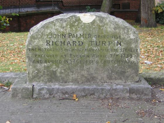Grave of Dick Turpin