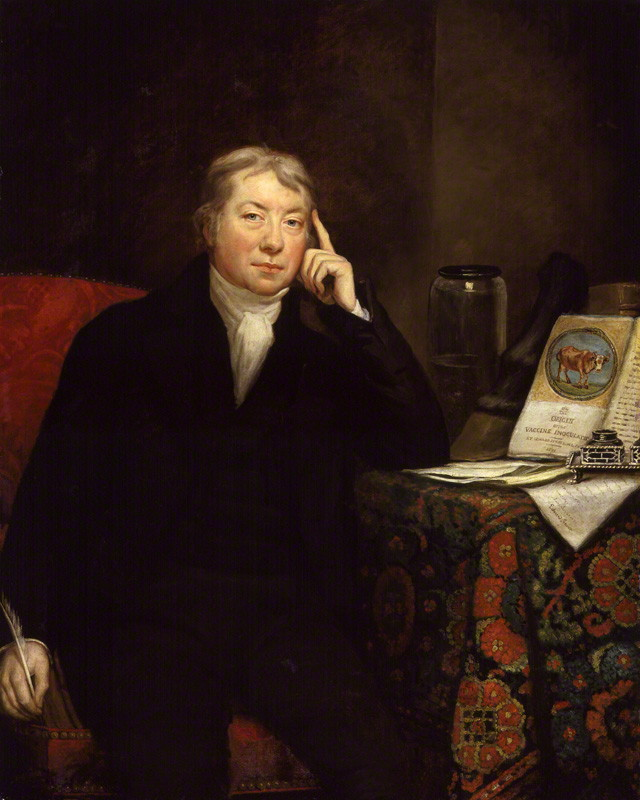 Portrait of Edward Jenner by James Northcote