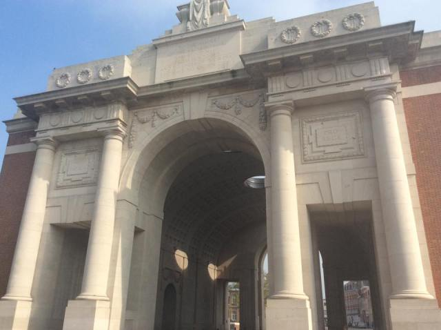 The Menim Gate in Ypres