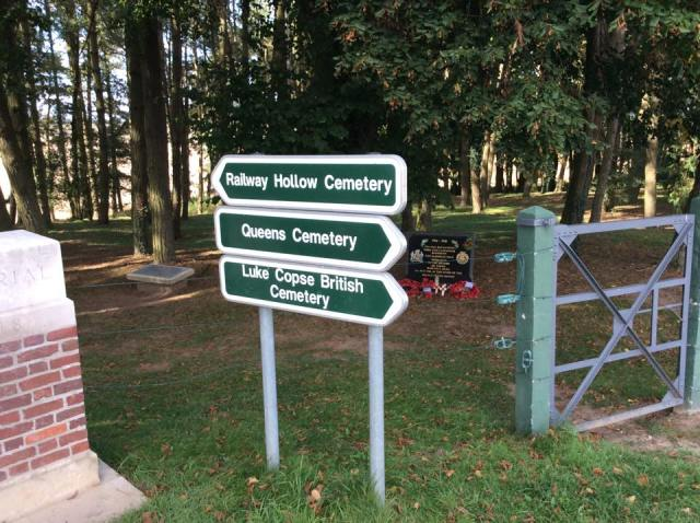 Cemetery Signs