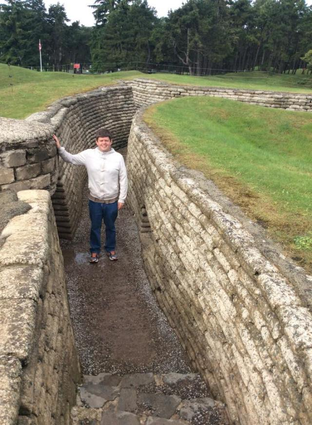 Vimy Ridge WW1 trench