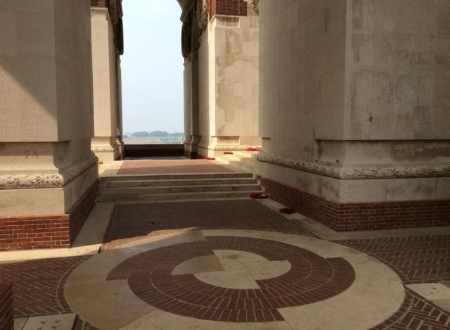 Inside Thiepval