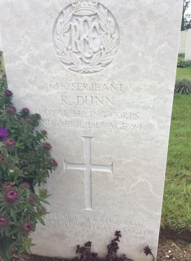 WW1 Hero Reuel Dunn