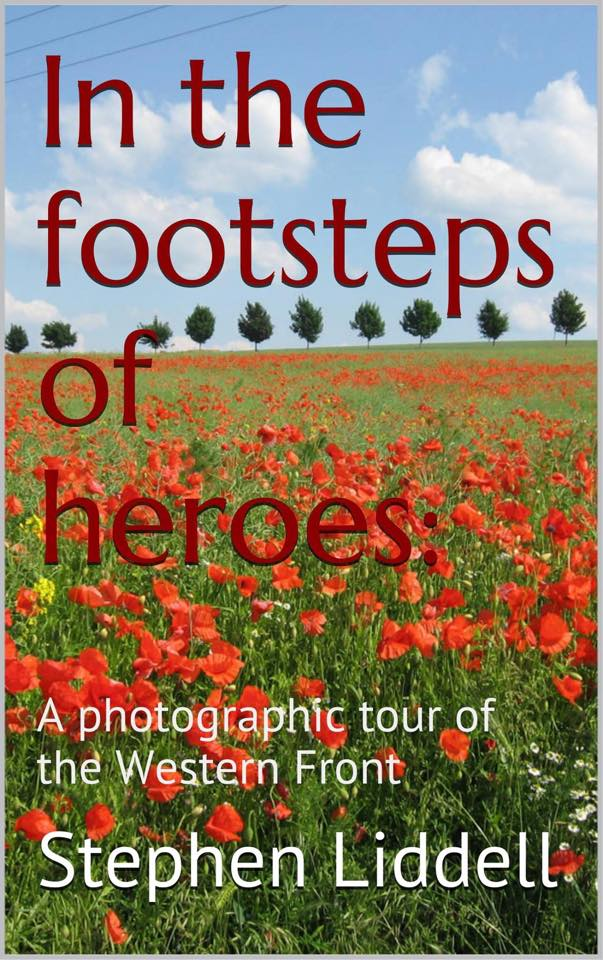 In The Footsteps of Heroes on Kindle and paperback.
