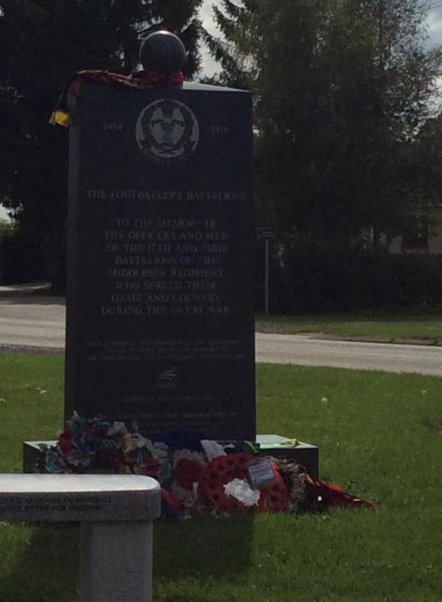 Delville Wood Football Memorial