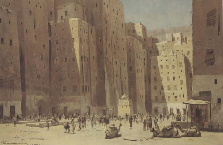Shibam The Original High Rise City Stephen Liddell