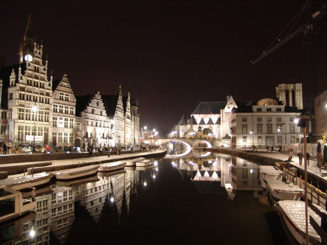 Gent at Night