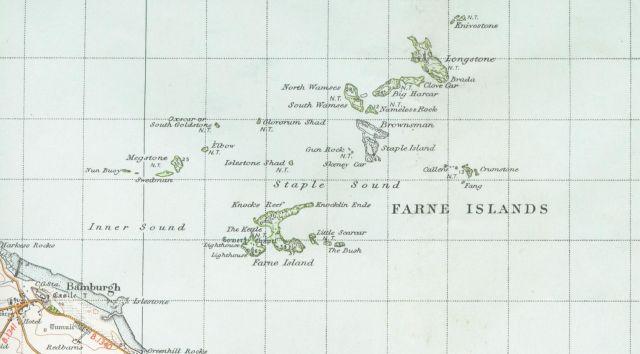Farne Islands Map