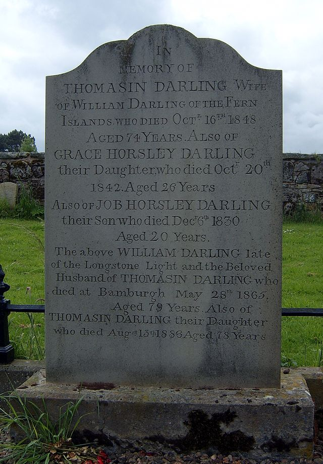 The grave of Grace Darling