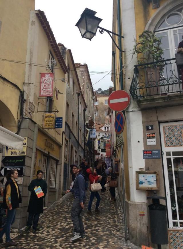 Sintra alleyways