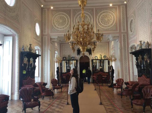 Inside the National Palace at Sintra