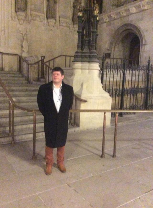 Me in Westminster Hall