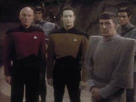 Spock, Picard and Data