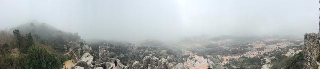 Sintra Panoramic Shot