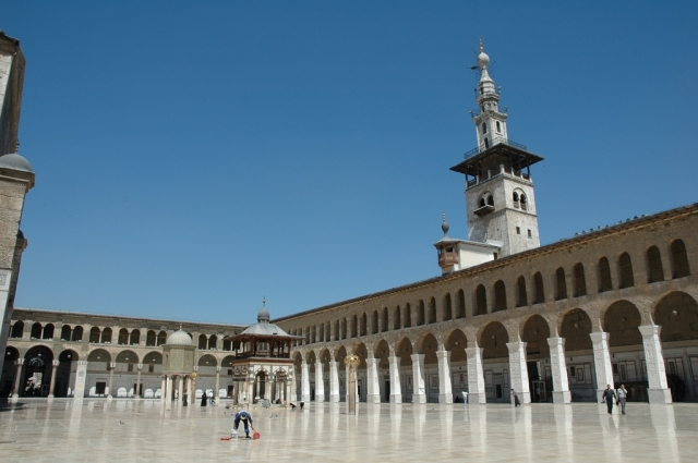 Umayyad Mosque in Syria
