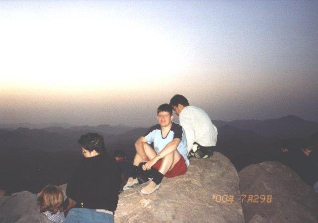 Stephen on Mount Sinai