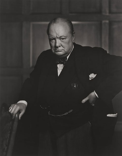 Prime Minister Sir Winston Churchill