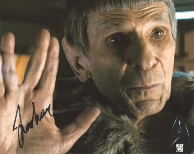 Spock autograph