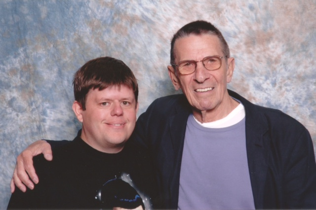 Stephen and Mr. Nimoy