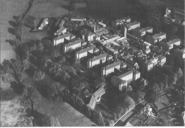 Aerial Shot of Leavesden Asylum