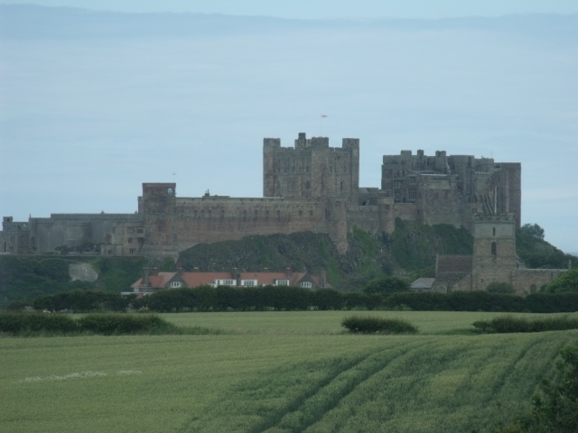 Bamburgh Castle - Winter is Coming!