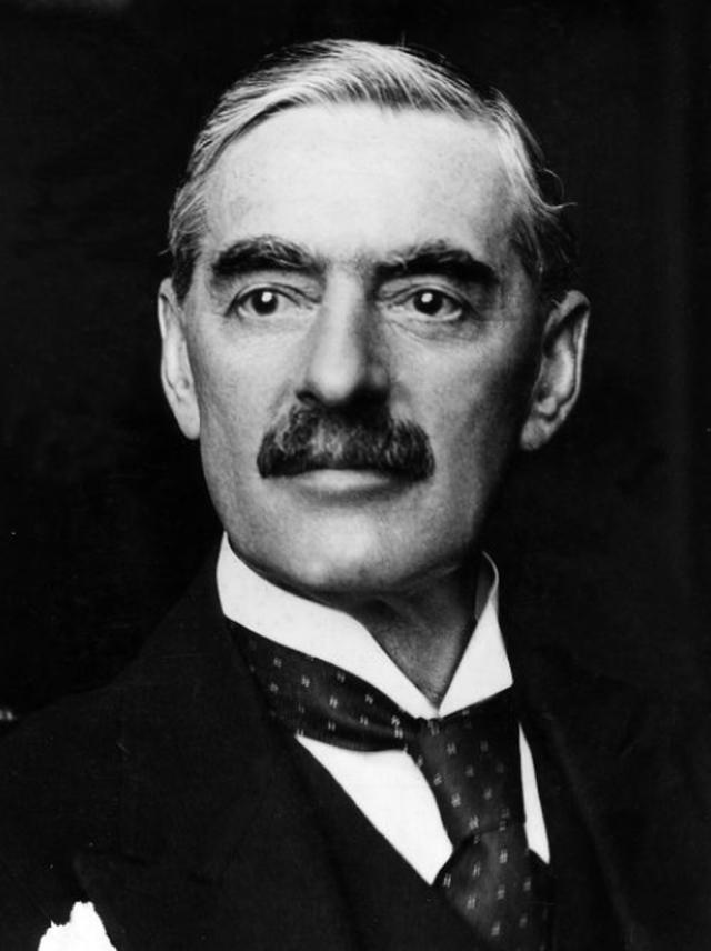 Prime Minister Neville Chamberlain