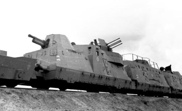 Nazi Armoured Train