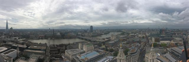 River Thames Panorama