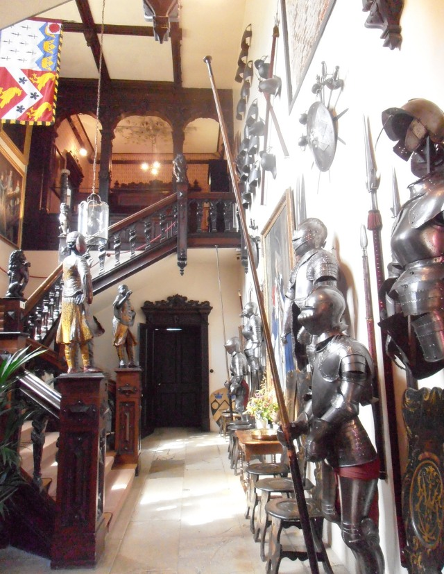 Knebworth House Armoury taken from official website