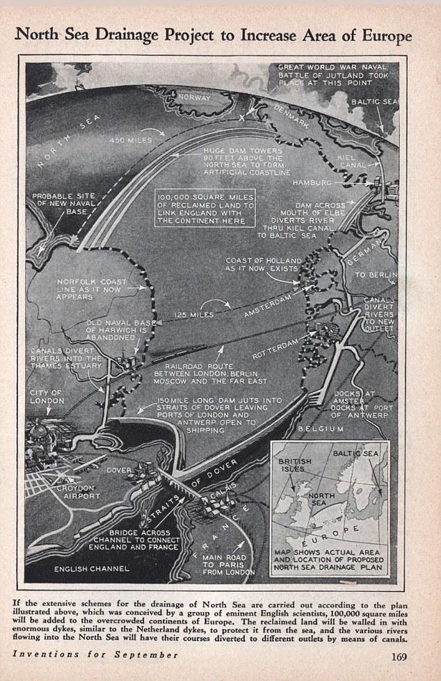 Draining The North Sea