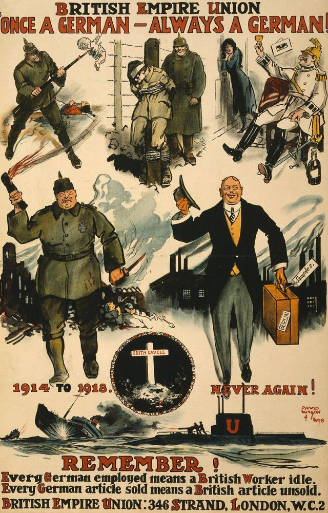 British Empire Union WW1 Poster