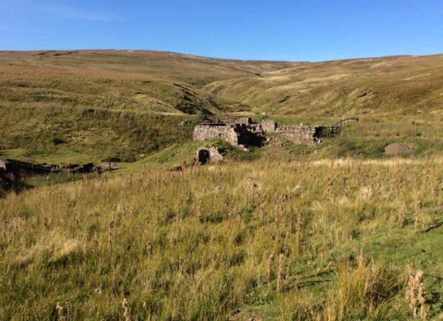 Small mining complex