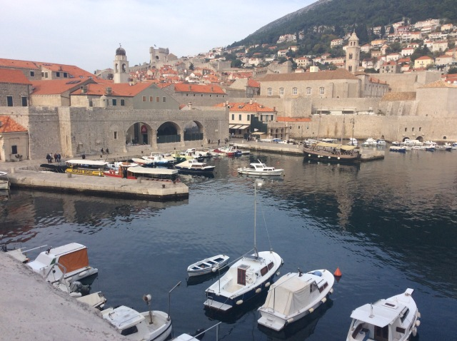 Old Harbour in Dubrovnik