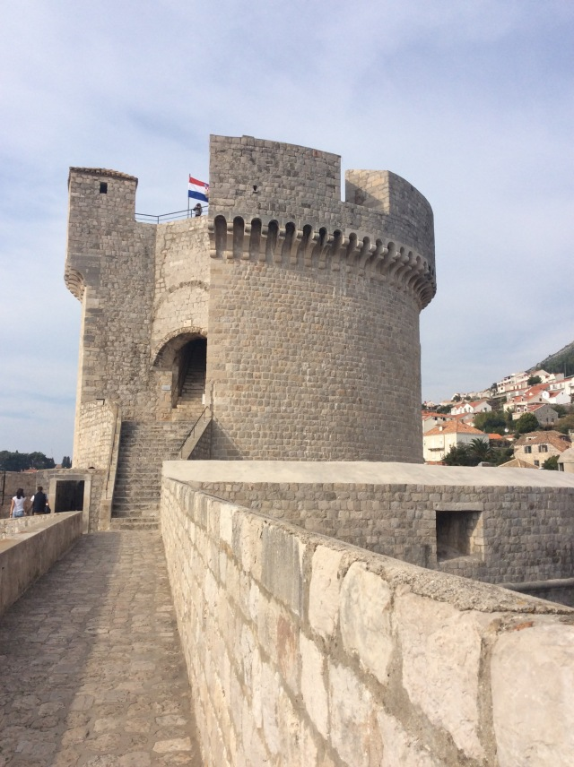 The Minčeta Tower built in the 15th century to combat the Ottoman threat. With walls  20 feet / 6 metres thick, Dubrivnik really was inpregnable.