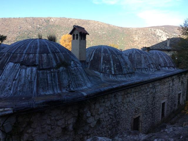 Old Ottoman Turkish bath house