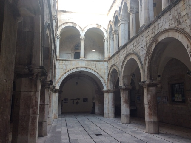 This beautiful building is also home to a memorial dedicated to those who fought and died defending Dubrovnik